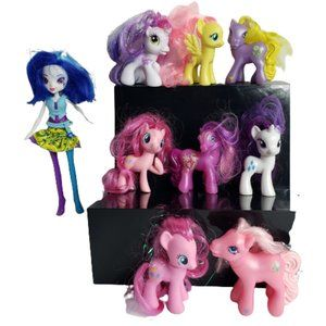 My Little Pony Doll Fig Bundle of 9 #9